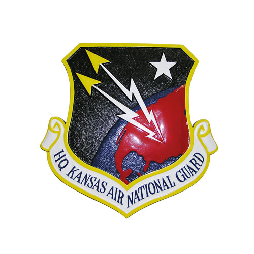 HQ Kansas Air National Guard Emblem
