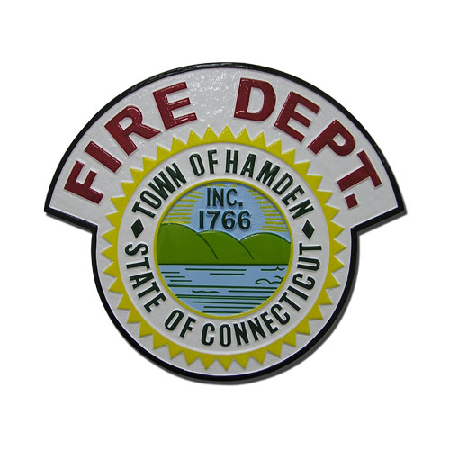Hamden Fire Department Emblem