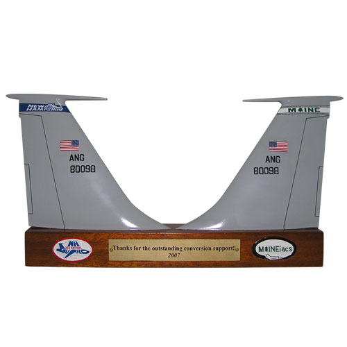 KC 135 Double Tail Flashes Plaque