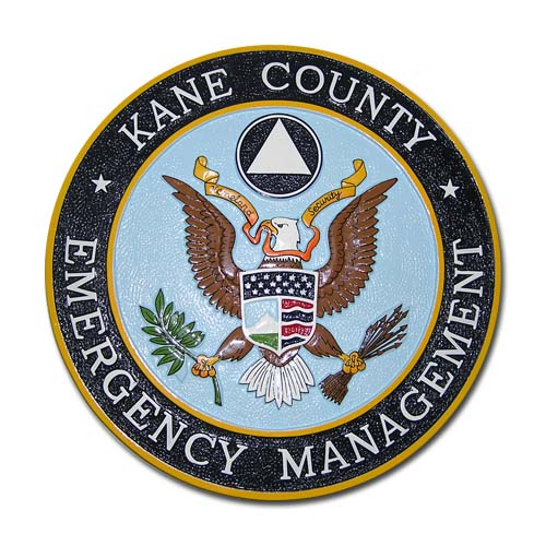 Kane County Emergency Management Seal