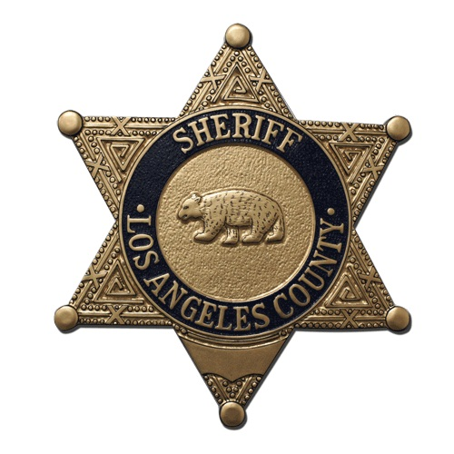 LA County Sheriffs Badge Plaque