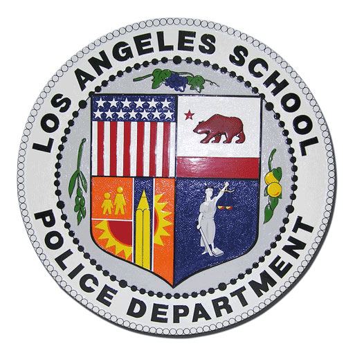 LA School Police Department  Seal