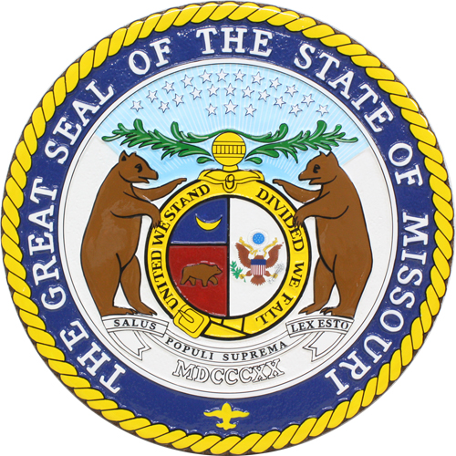 Missouri State Seal Plaque