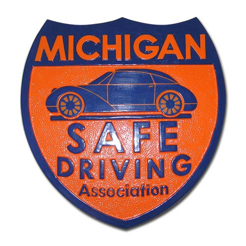Michigan Safe Driving Association Emblem