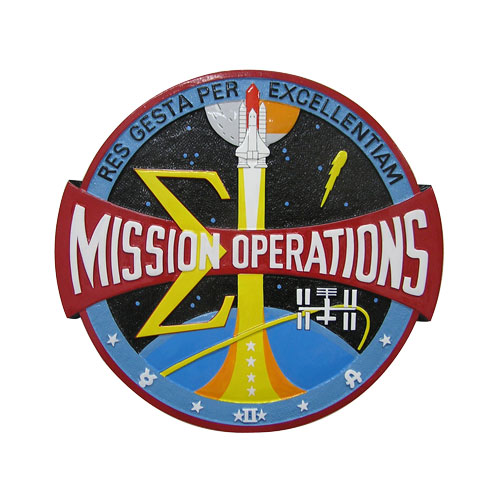Mission Operations Center Seal