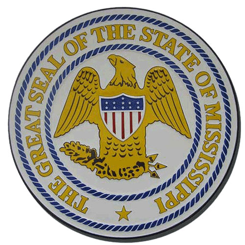Mississippi State Seal Plaque