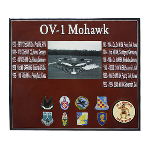 Mohawk Photo Presentation Plaque