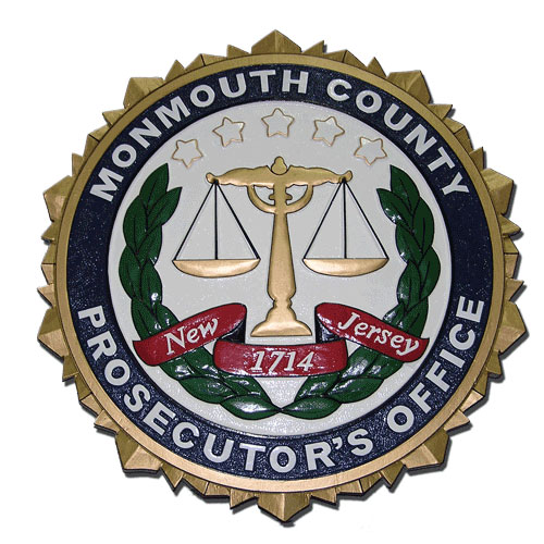 Monmouth County Prosecutors Office Seal