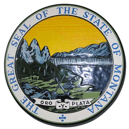 Montana State Seal Plaque