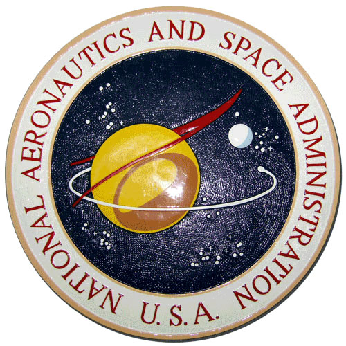 NASA Seal Original 1959 Design Plaque
