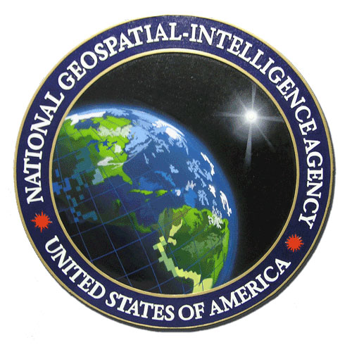 National Geospatial-Intelligence Agency NGA Seal / Podium Plaque