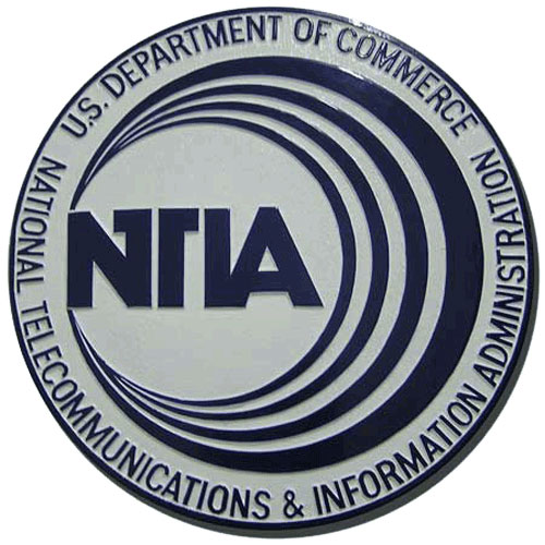 National Telecommunications and Information Seal / Podium Plaque