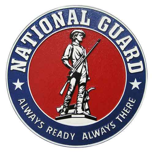 National Guard Always Ready Always There Seal
