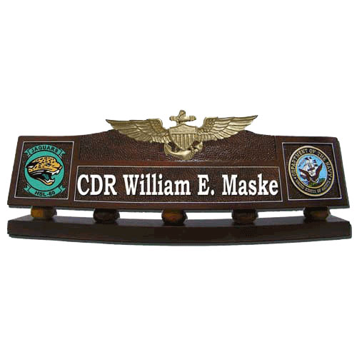 Naval Aviator Desk Nameplate