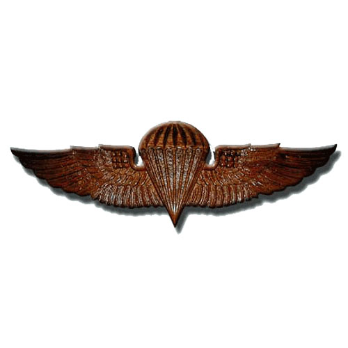 Naval Parachutist Badge Jump Wings Plaque