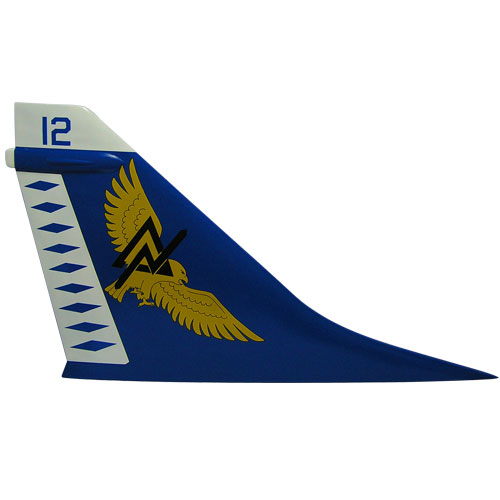Navy A-7 Tail Flash Wall Plaque