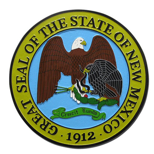 New Mexico State Seal Plaque