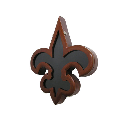 Fleur De Lis Design Shadow Box