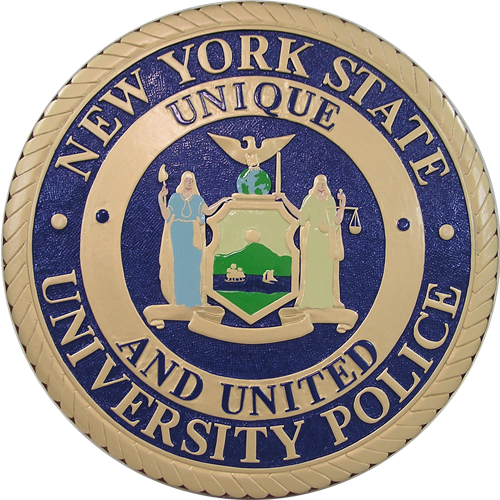 New York State University Police Seal