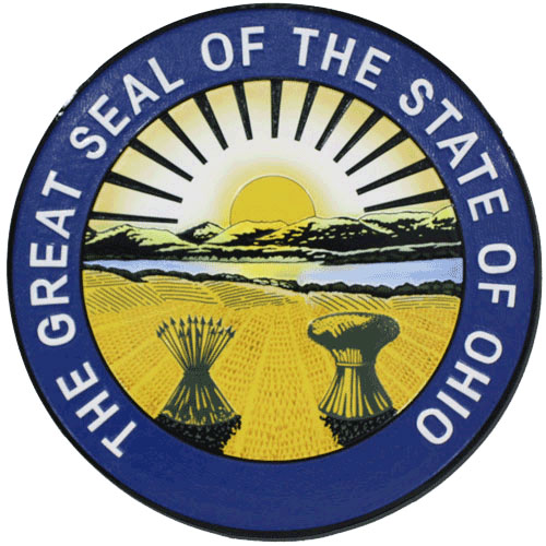 Ohio State Seal Plaque