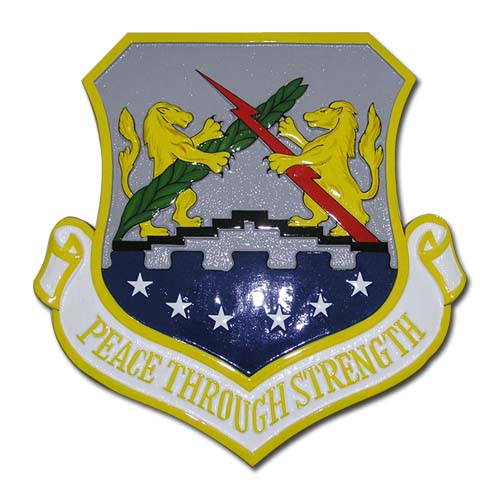 Peace Through Strength Emblem