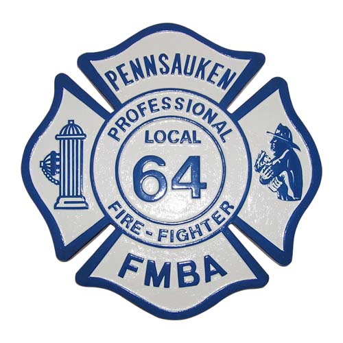 Pennsauken Local 64 FMBA Emblem