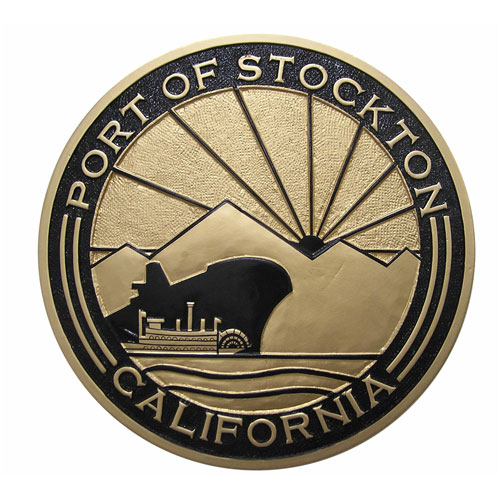 Port of Stockton California Seal