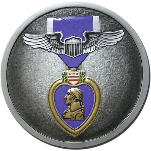 U.S. Purple Heart Medal Seal Plaque