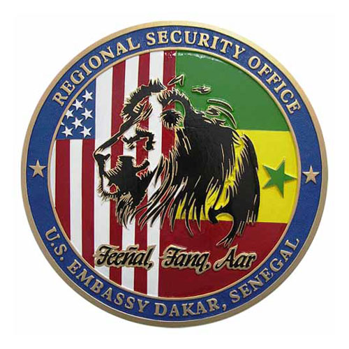RSO US Embassy Dakar-Senegal Seal