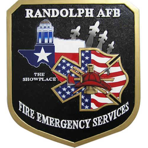 Randolph AFB Fire Emergency Services Emblem