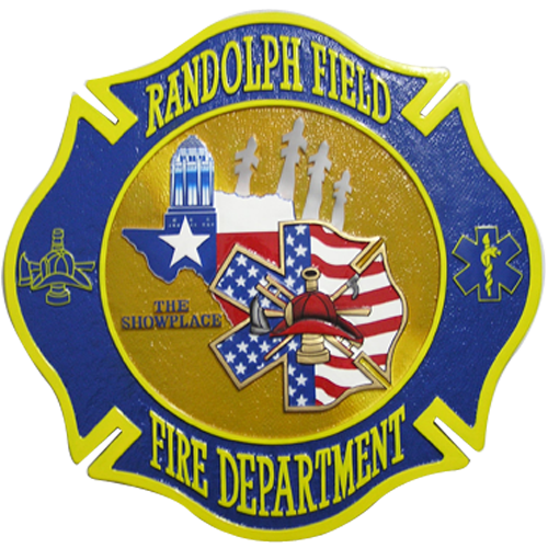 Randolph Field Fire Department Emblem