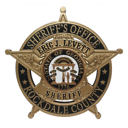 Rockdale County Sheriffs Office Badge