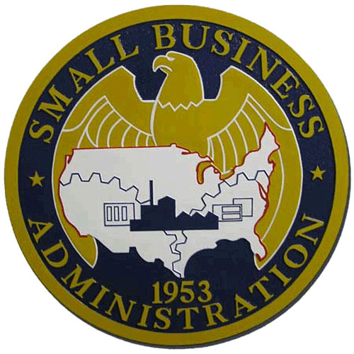 U.S. Small Business Administration SBA Seal / Podium Plaque