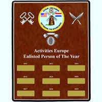 Sailor Of The Year Plaque