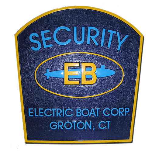 Electronic Boat Corporation Security Office Emblem
