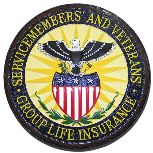 Servicemembers and Veterans Seal