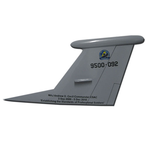 TF-950-092 Tail Flash Wall Plaque