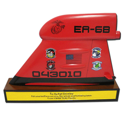 TF-EA 6B Desktop Tail Flash Plaque