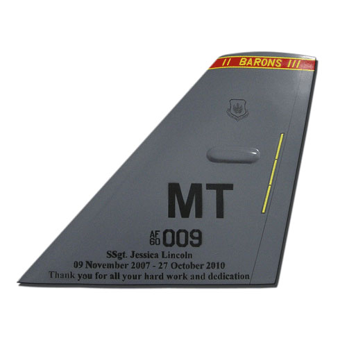 TF MT 009 Tail Flash Wall Plaque