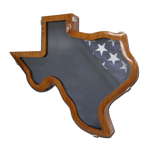 Texas Shape Shadow Box