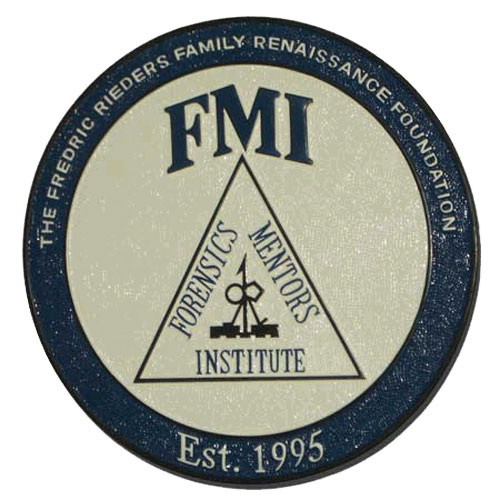The Fredric Rieders Family Renaissance FMI Seal / Podium Plaque