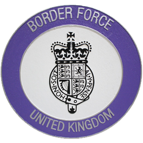 UK Border Force Seal