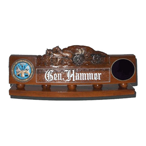 US Army Civil War Desk Nameplate