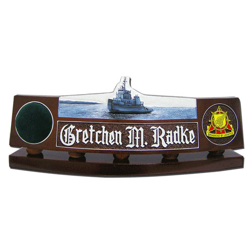 US Army Tug Boat Desk Nameplate