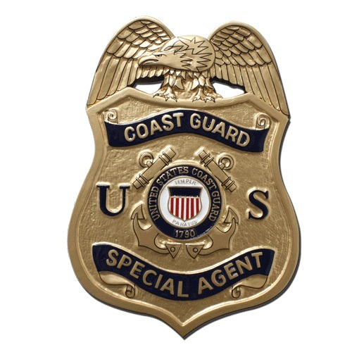 USCG SA Badge Plaque