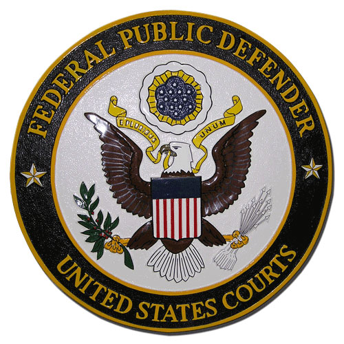 US Courts Federal Public Defender Seal