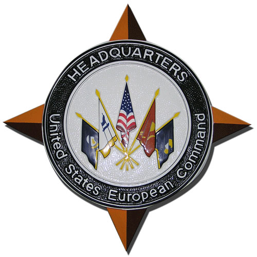 US European Command Headquarters Emblem