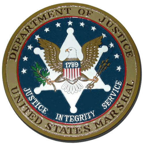 US Marshals Service Seal / Podium Plaque