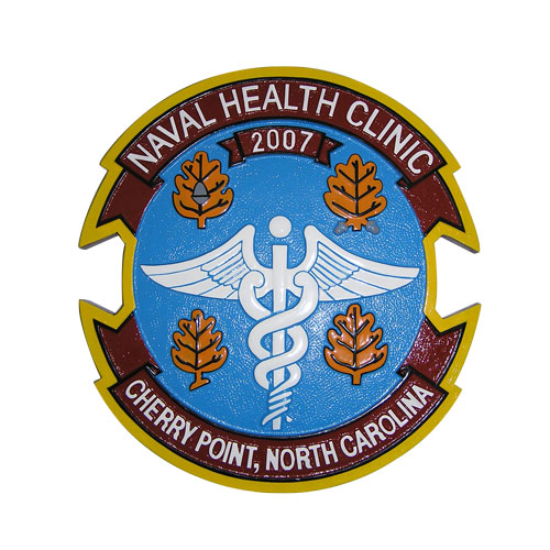US Naval Health Clinic Cherry Point Emblem