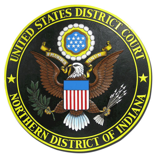 US Northern District Court of Indiana Seal